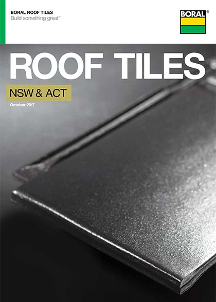 Boral Roof Tiles Brochure