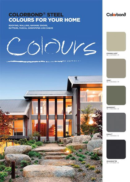 colorbond colours brochure